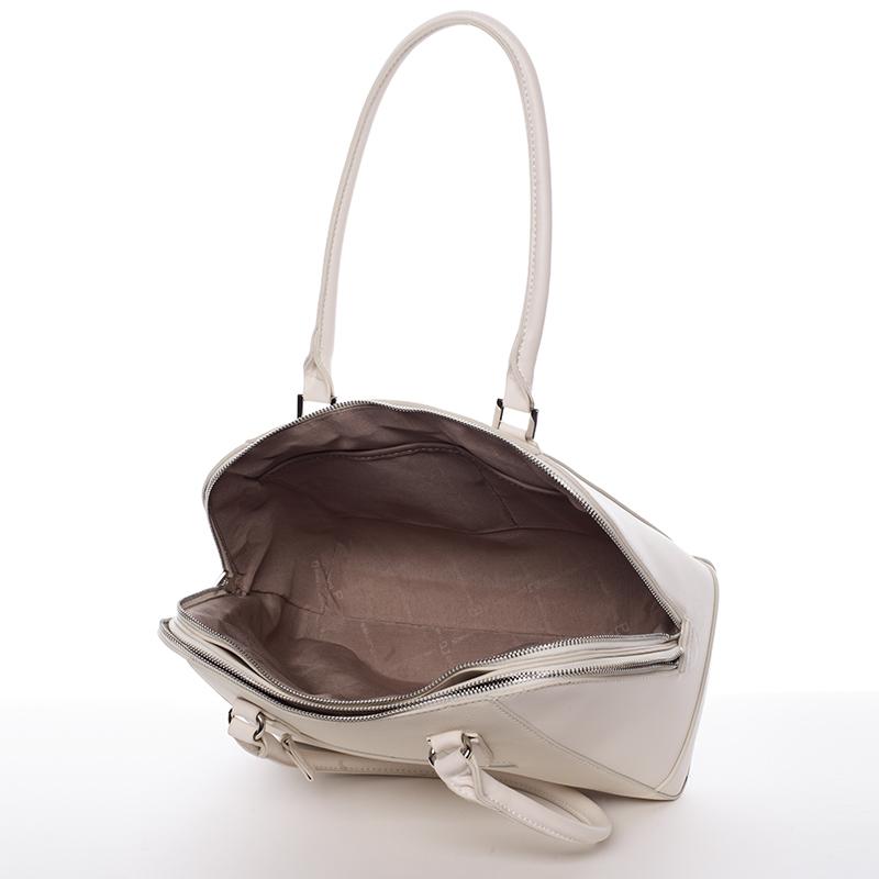 Praktická kabelka přes rameno Marilú, béžová