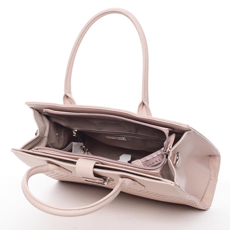 Originální dámská kabelka Dora, růžová