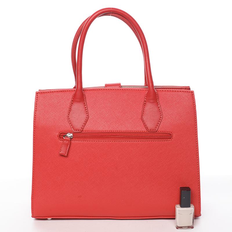 Originální dámská kabelka Dora, červená