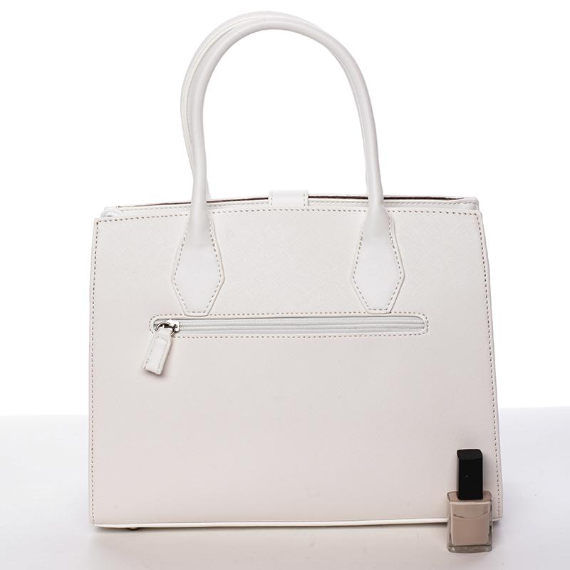 Originální dámská kabelka Dora, bílá