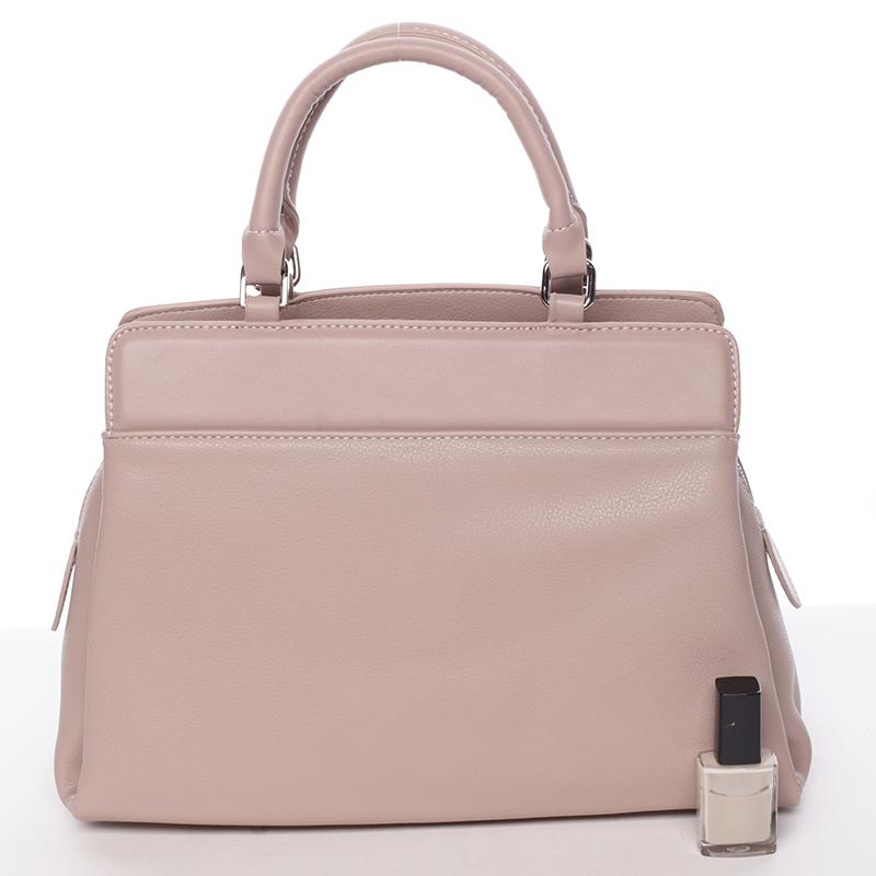 Luxusní kabelka do ruky Gladis, růžová