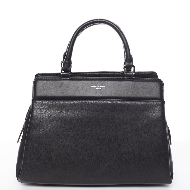 Luxusní kabelka do ruky Gladis, černá