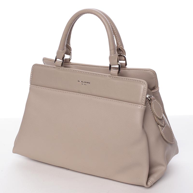 Luxusní kabelka do ruky Gladis, camel