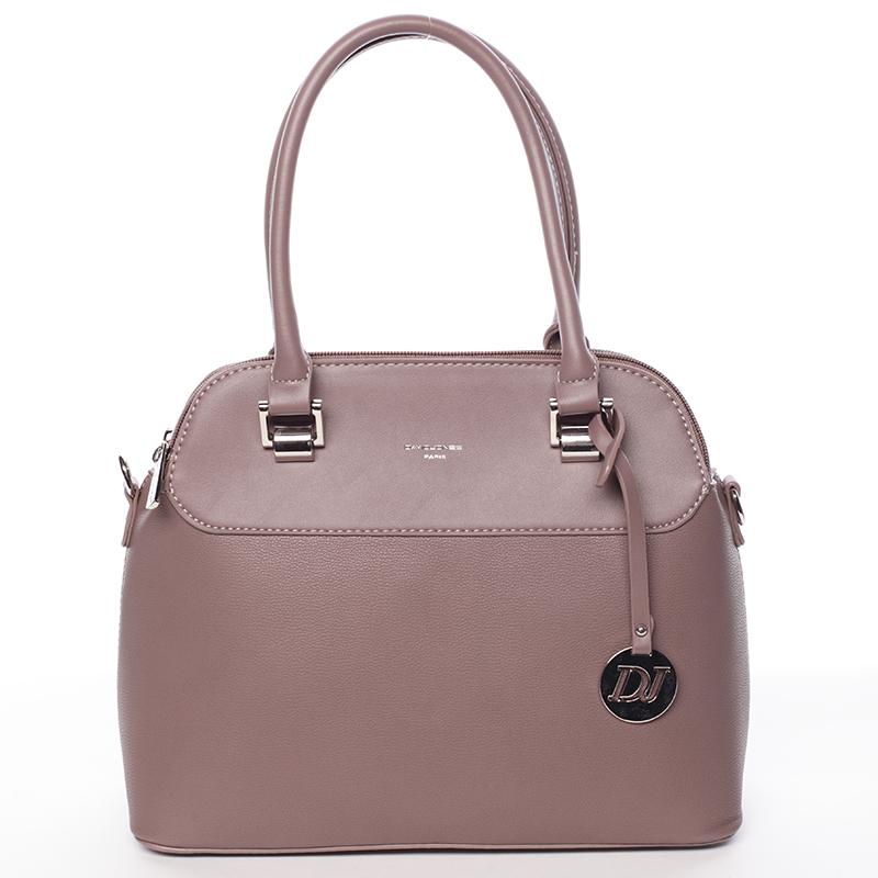 Trendová kabelka do ruky Elaina, tmavě růžová