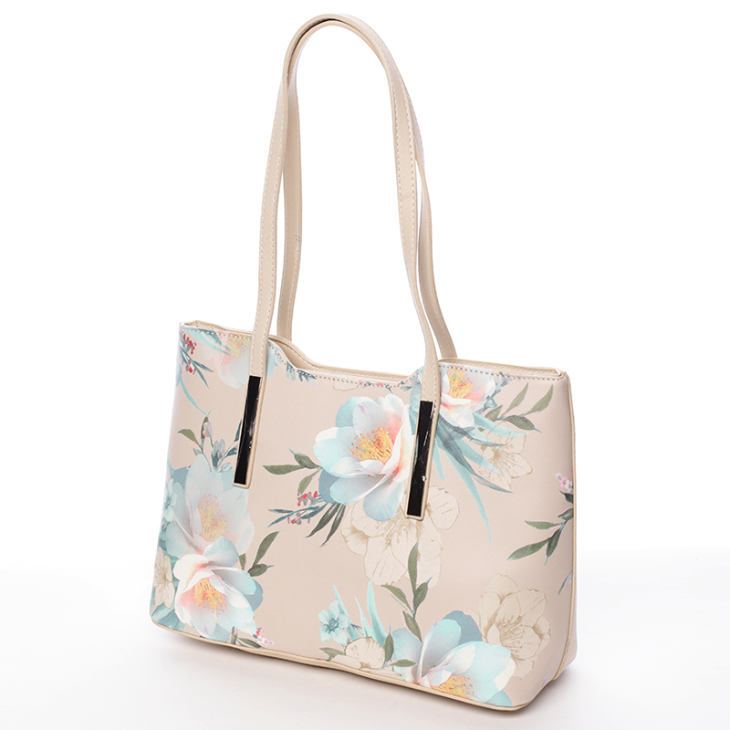 Krásná dámská kabelka Esperanza, béžová