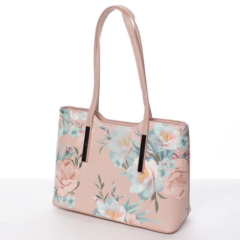 Krásná dámská kabelka Esperanza, růžová