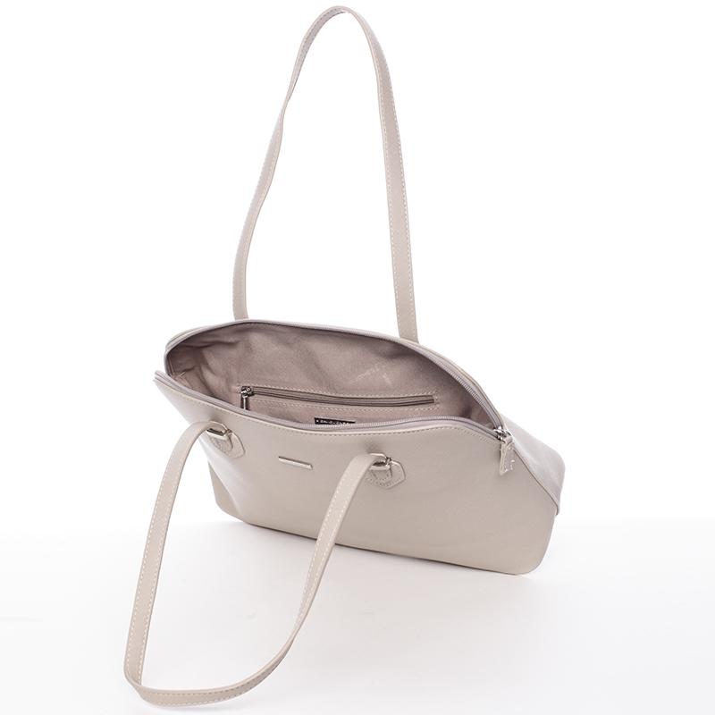 Klasická kabelka David Jones Azalea, šedá