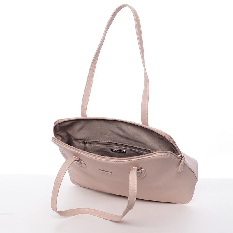 Klasická kabelka David Jones Azalea, růžová