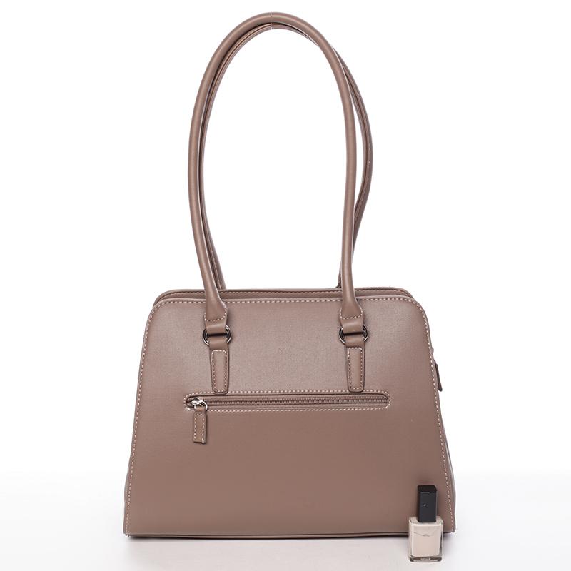 Elegantní dámská kabelka Belén, tmavě béžová