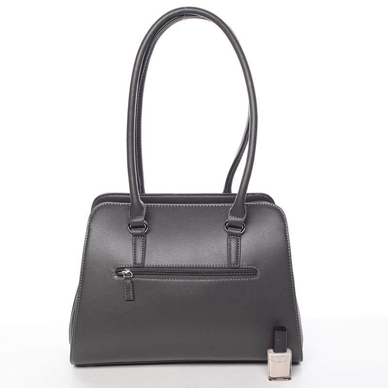 Elegantní dámská kabelka Belén, tmavě šedá