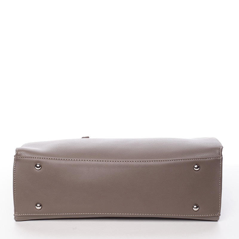 Elegantní módní kabelka Ariel, dark taupe