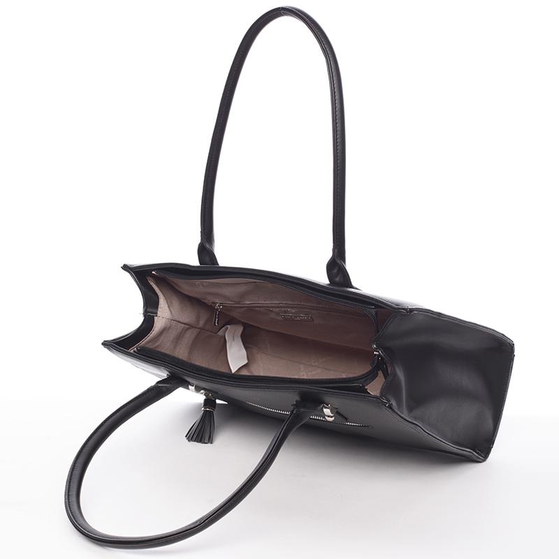 Elegantní módní kabelka Ariel, černá