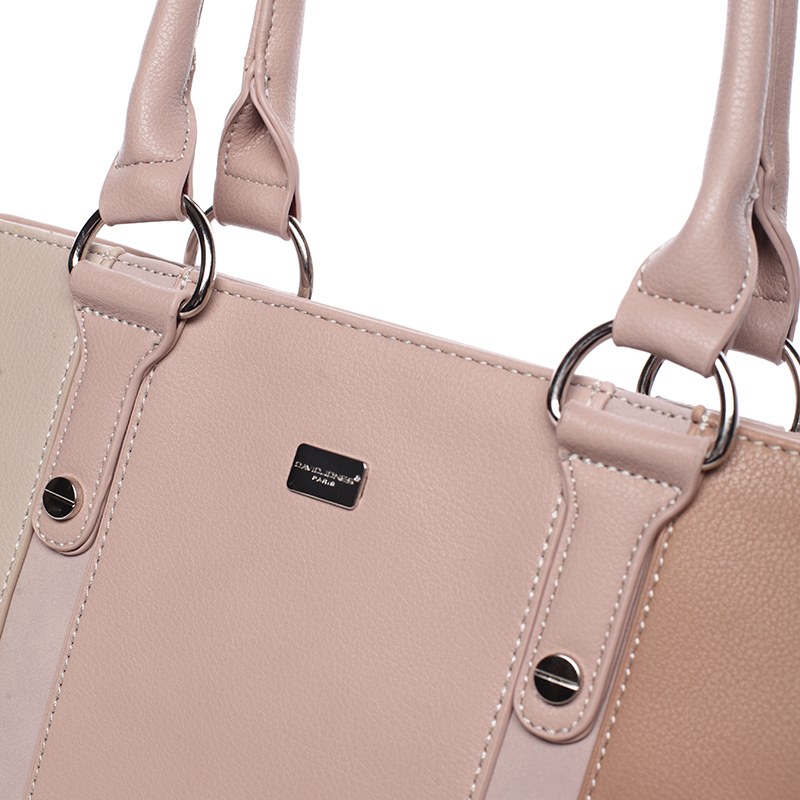 Elegantní kabelka Brunela, růžová