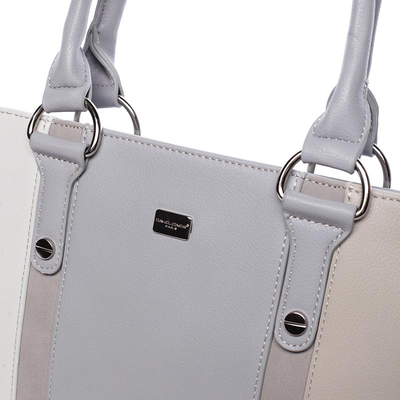 Elegantní kabelka Brunela, šedá