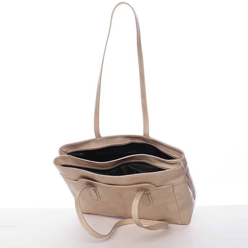 Dámská kabelka přes rameno Ilana, taupe