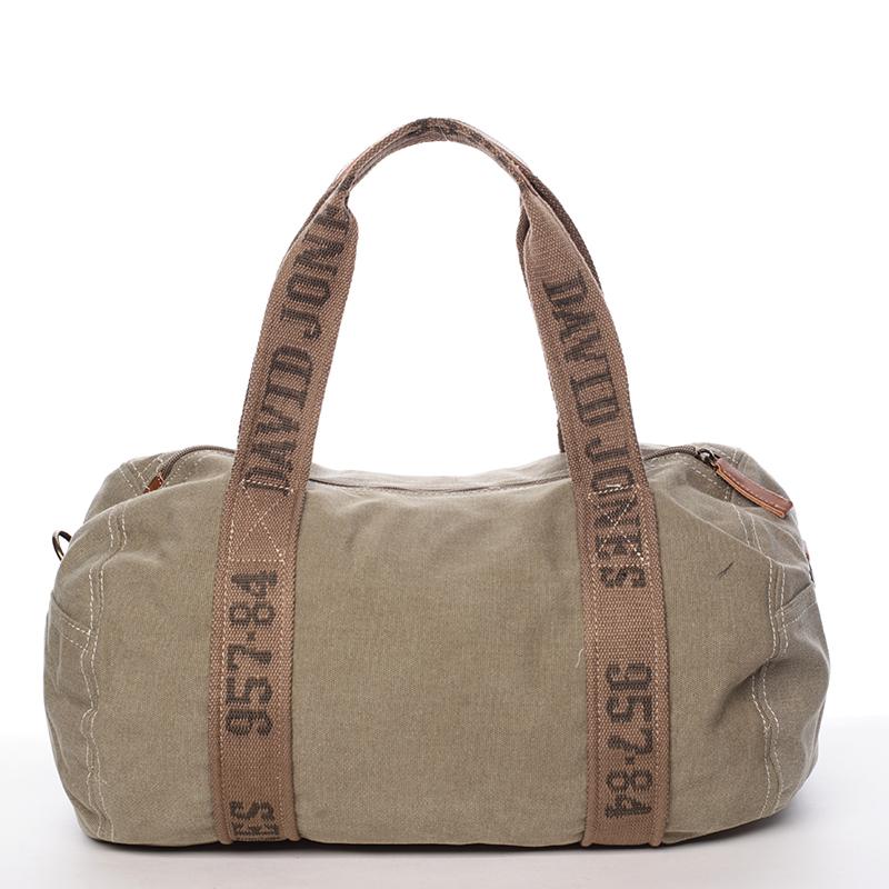 Stylová taška na sport Ana, khaki