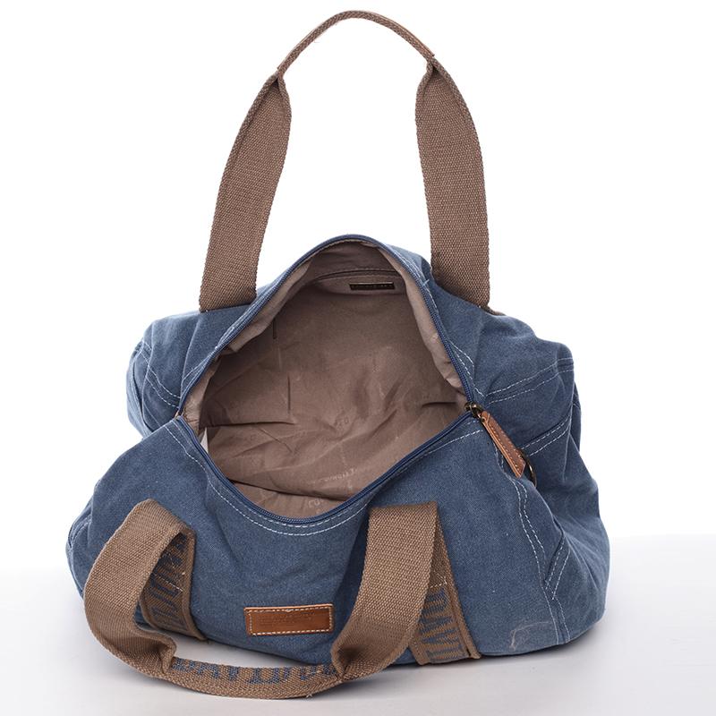Stylová taška na sport Ana, modrá