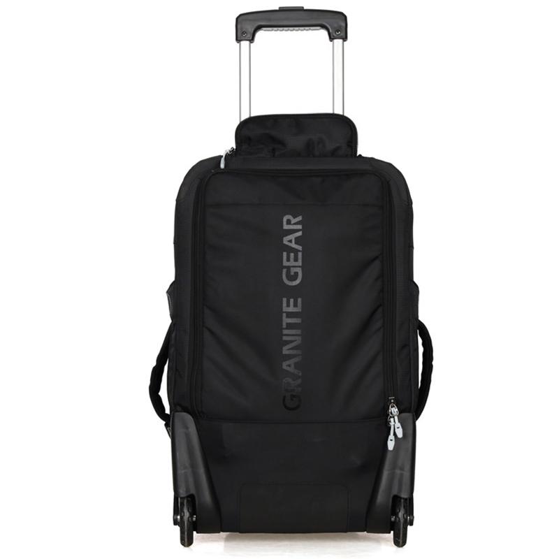 Cestovní batoh na kolečkách Granite Gear, černý