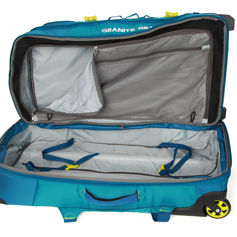 Velký multifunkční batoh na kolečkách Granite Gear, modrý