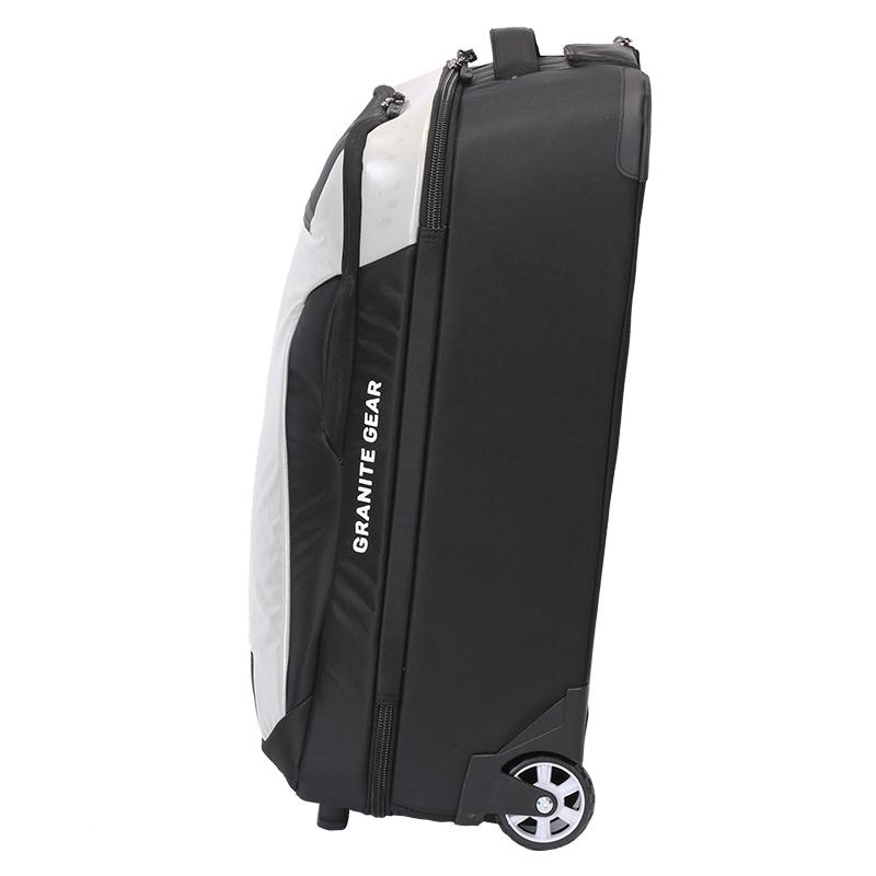 Kvalitní cetovní batoh na kolečkách Granite Gear, černý