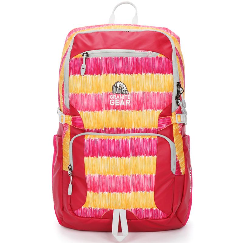 Kvalitní turistický a sportovní batoh Granite Gear, červený-duhový