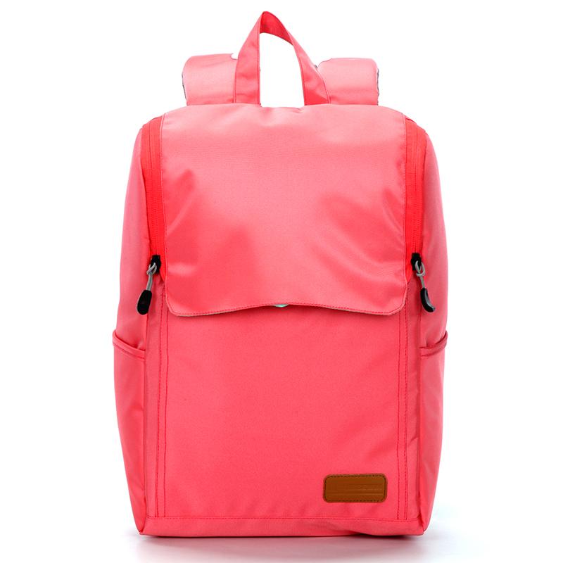 Módní kvalitní batoh , korálový