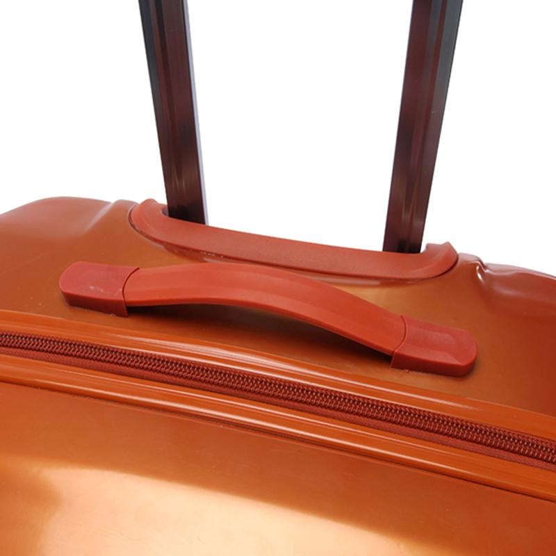 Cestovní stylový kufr Suissewin I, oranžový