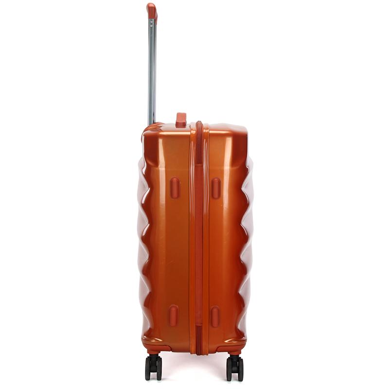 Cestovní stylový kufr Suissewin II, oranžový