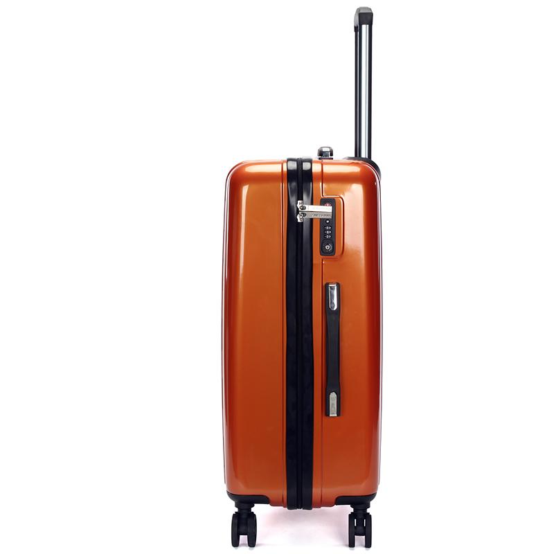Cestovní kufr Sussewin vel. 1, 4.kolečka, oranžový