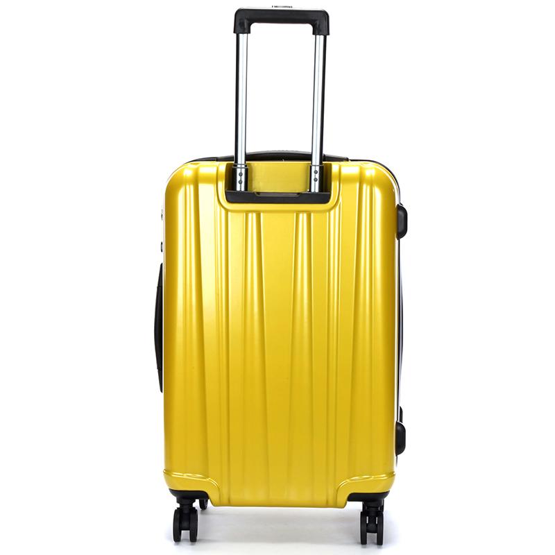 Pevný cestovní kufr Suissewin, žlutý vel. I