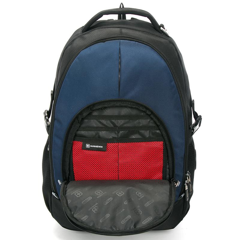 Odolný batoh na cesty Sussewin, modrý