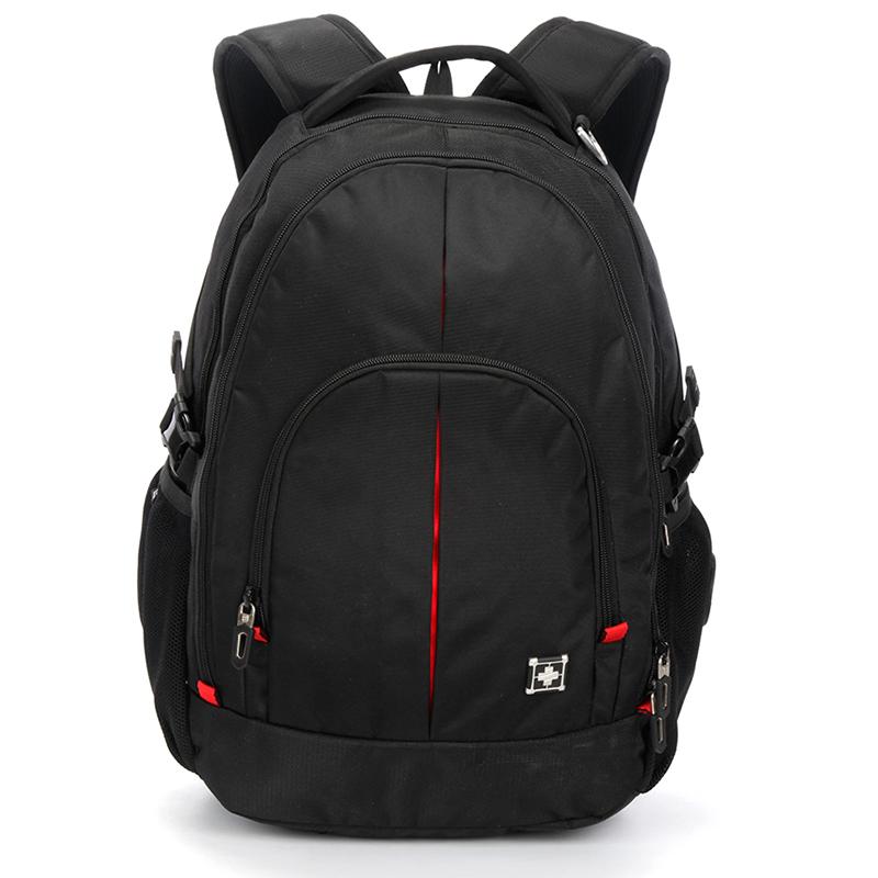 Odolný batoh na cesty Sussewin, černý
