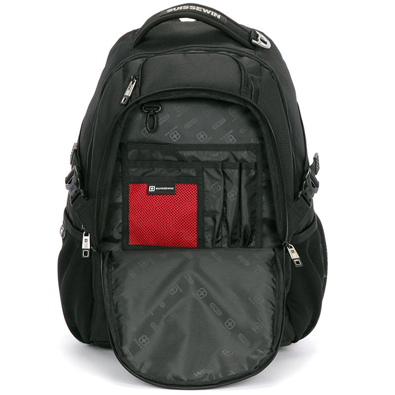 Multifunkční prodyšný batoh Sussewin, černý