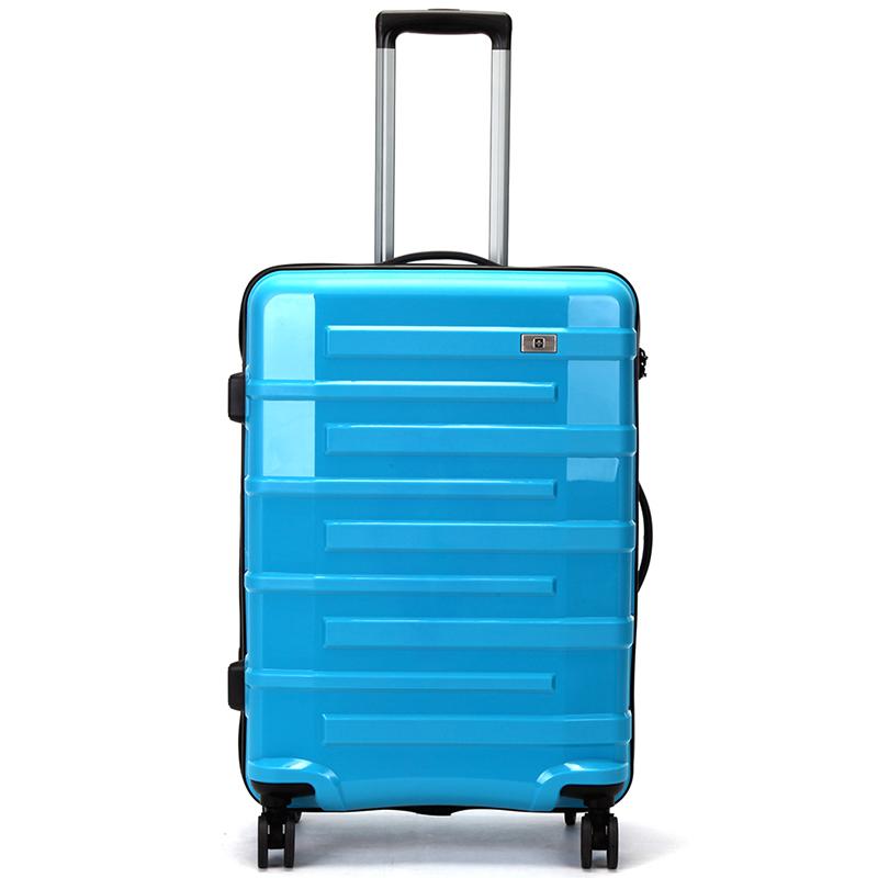 Tyrkysový cestovní kufr Suissewin, vel. III