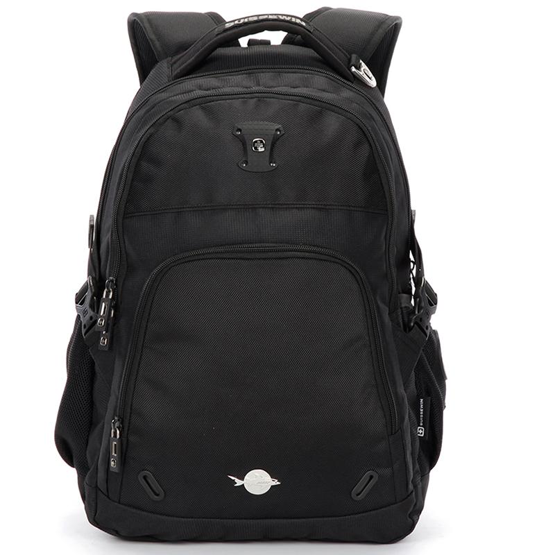 Cestovní funkční batoh Sussewin, černý