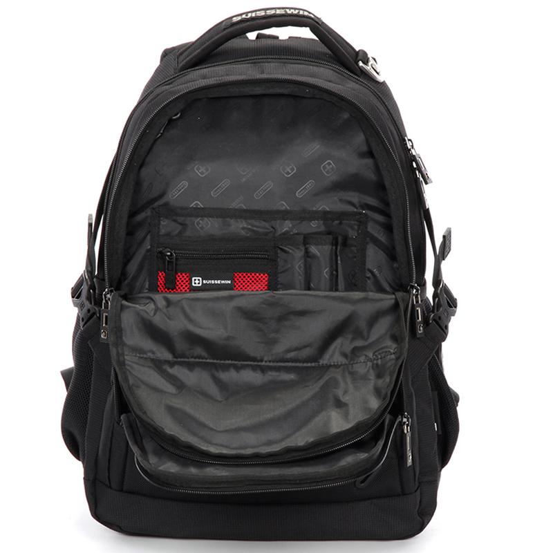 Multifunkční prodyšný batoh Sussewin, červeno-černý