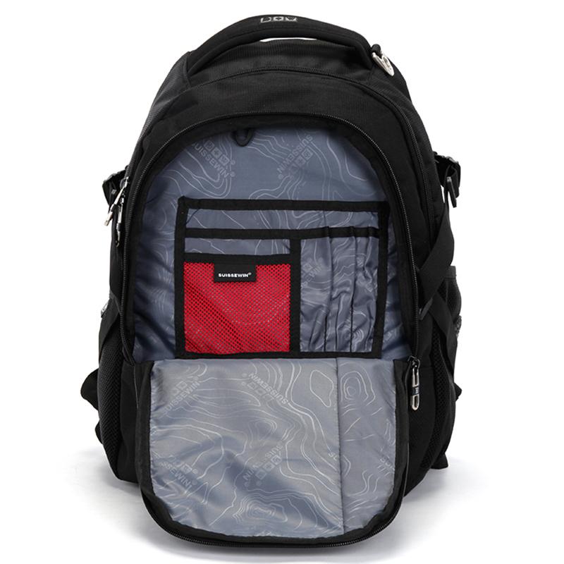 Cestovní funkční batoh černý, Sussewin