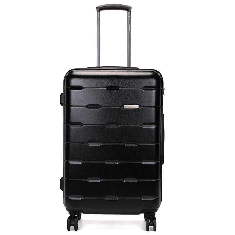 Černý pevný cestovní kufr Travel Plus vel. II