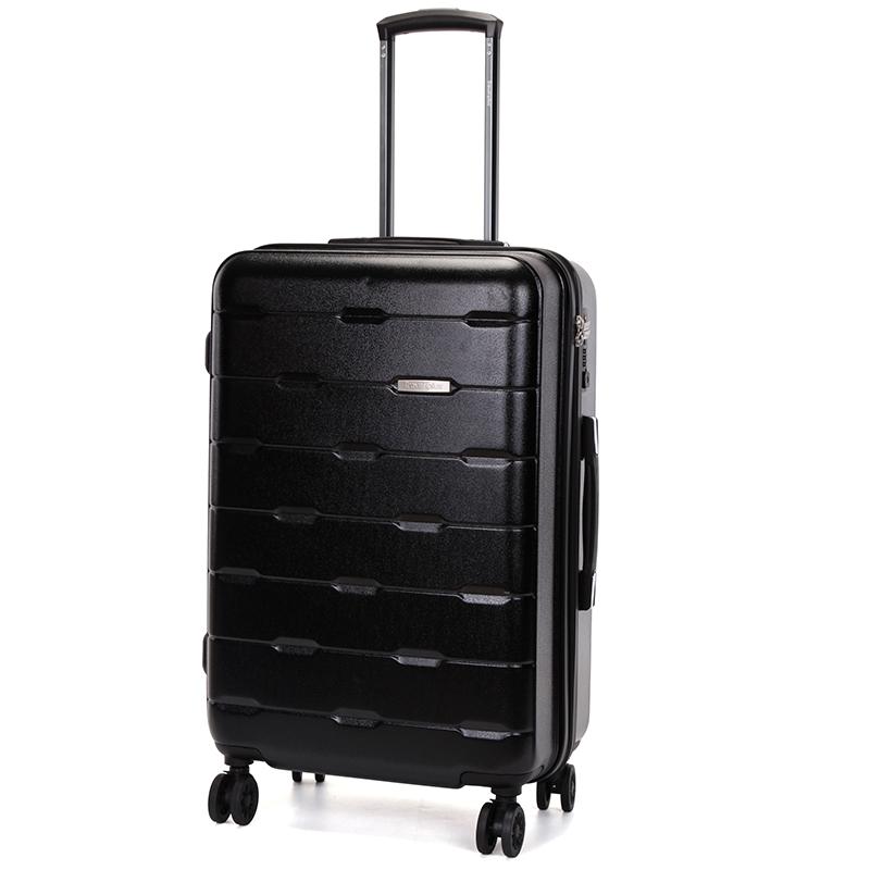 Černý pevný cestovní kufr Travel Plus vel. III