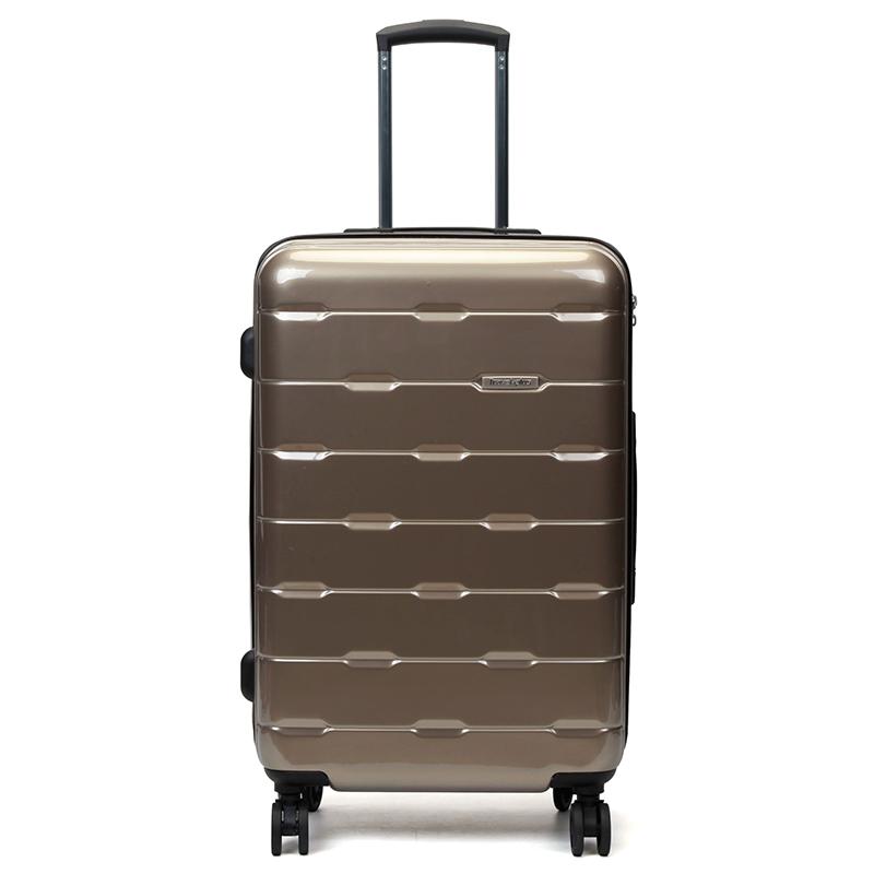 Cestovní kufr Travel plus, zlatý vel.I