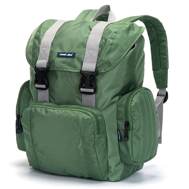 Velký multifunkční batoh Travel plus, zelený