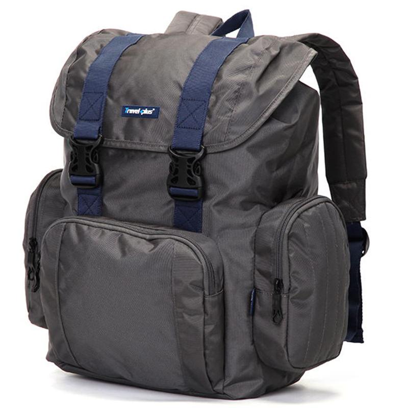 Velký multifunkční batoh Travel plus, šedý