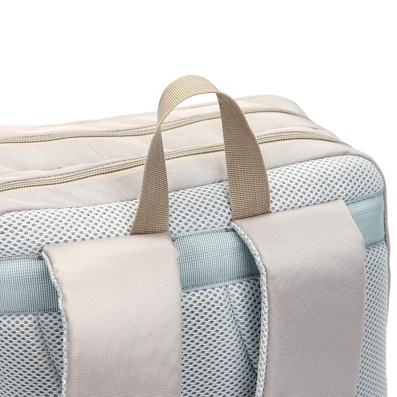 Originální cestovní i školní batoh Travel Plus, béžový