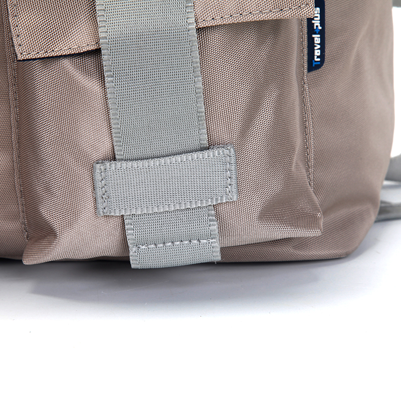 Velký prodyšný multifunkční batoh Travel plus, béžový