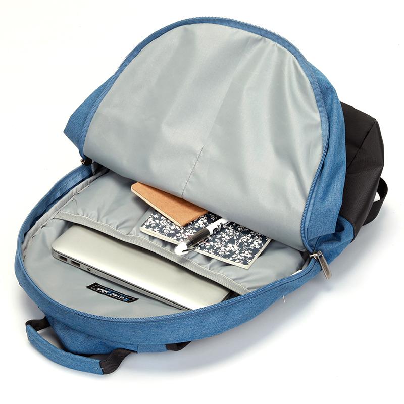 Stylový školní baťůžek Travel Plus, modrý