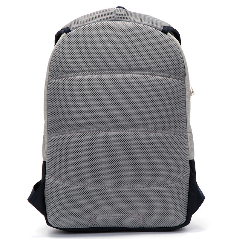 Velký prodyšný multifunkční batoh Travel plus, šedý