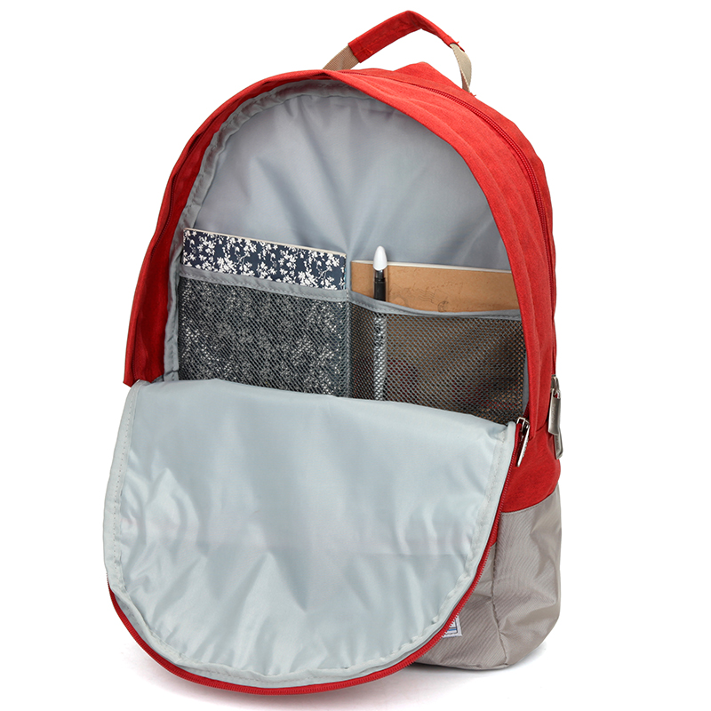Velký prodyšný multifunkční batoh Travel plus, oranžový