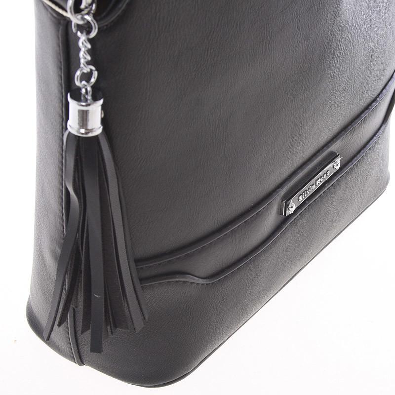 Crossbody kabelka Silvie Rosa Déborah, černá