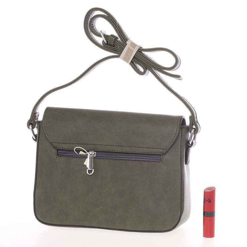 Luxusní crossbody kabelka Carlota,  zelená