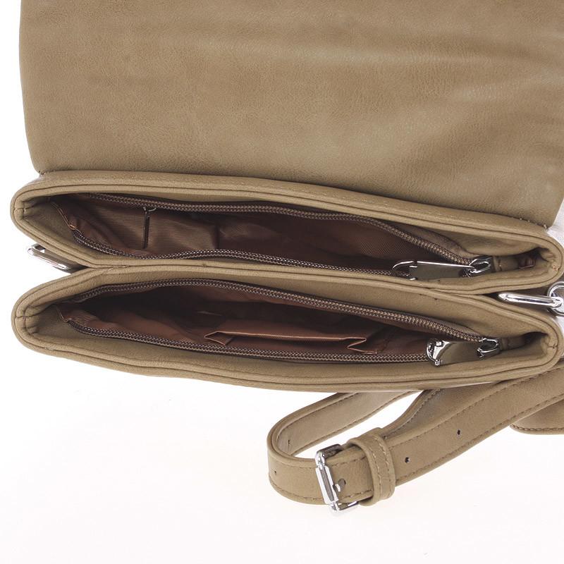 Dámská crossbody kabelka Casia, khaki